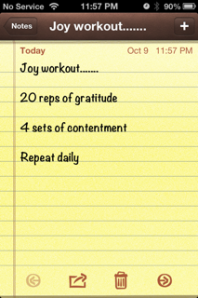 joy workout