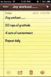 joy workout