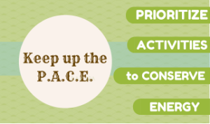 Keep up theP.A.C.E.